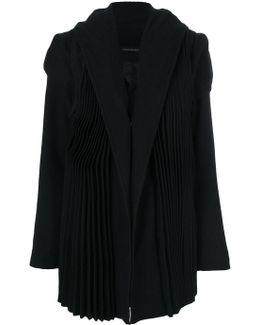 Tailored Pleated Coat