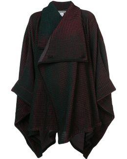 Blanket Style Cardi-coat