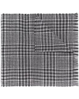 Houndstooth Pattern Scarf