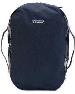 Logo Patch Wash Bag