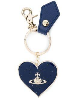 Logo Heart Keychain