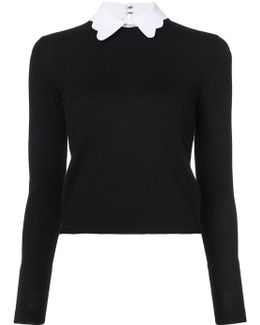 Becker Scallop Collar Bodysuit