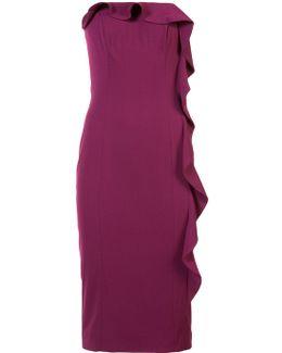 Off-shoulder Ruffled Dress