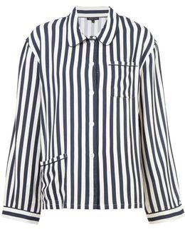 Dillon Striped Pyjama Top