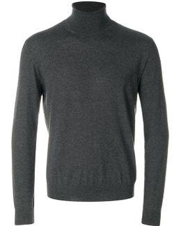 Roll Neck Sweatshirt