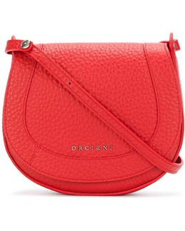 Logo Embossed Cross Body Bag