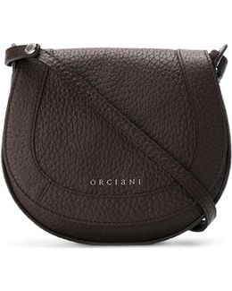 Circular Flap Shoulder Bag
