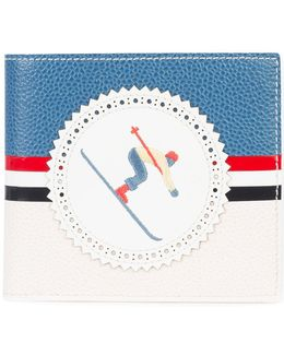Skier Billfold Wallet