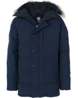 Furry Hood Parka Coat