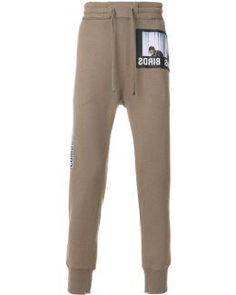 Pantaloni Sportivi Con Applicazioni