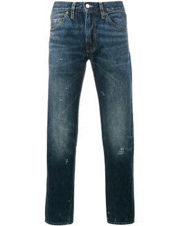 Vintage Blue Denim Jeans