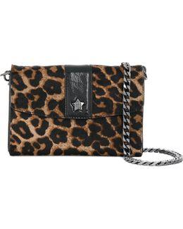 Leopard Print Shoulder Bag