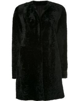Round Neck Mid-length Coat