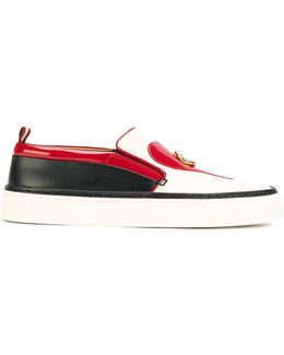 Heart And Lips Slip-on Trainers