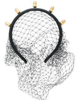 Acorn Detail Net Hairband