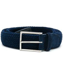 Braided Buckle Belt