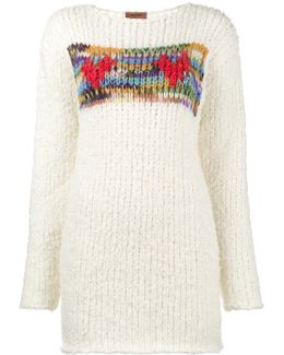 Hearts Hand Knitted Chunky Jumper