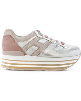 Maxi H222 Flatform Sneakers