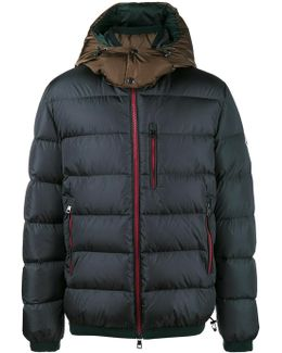 Quilted Feather Down Jacket
