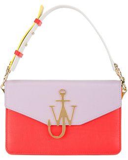 Multicoloured Shoulder Bag With Anchor Logo