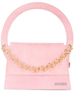 Le Petit Rond Small Bag With Gold Chain