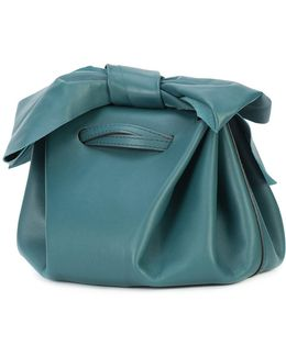 Bow Detail Drawstring Crossbody Bag