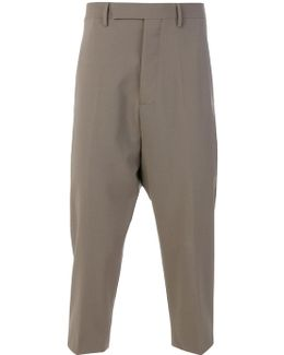 Tailored Drop-crotch Trousers