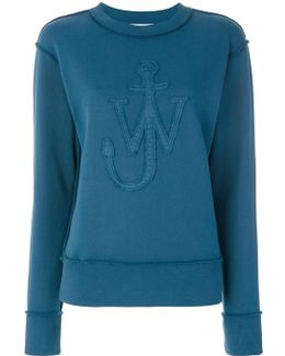 Applique Logo Sweatshirt