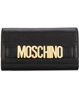 Logo Plaque Wallet