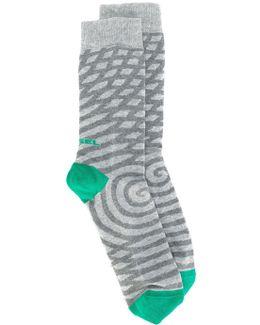 Patterned Ankle Socks