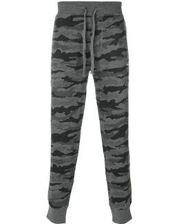 Camouflage Drawstring Sweatpants