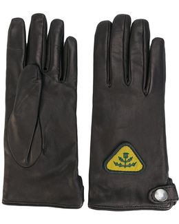 Patch Detail Gloves