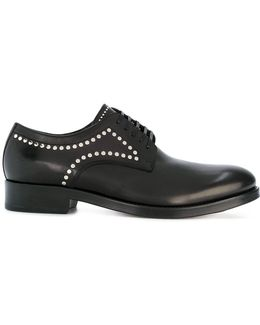 Studded Derby Shoes