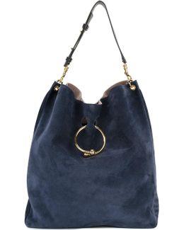 Buckle Detail Hobo Bag