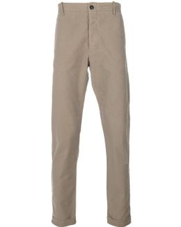 Regular Roll Up Trousers