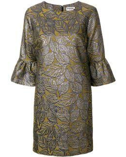 Leaf Shift Dress