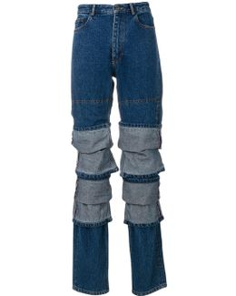 Multi Layered Jeans