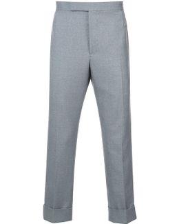 Classic Backstrap Trouser W/ Rwb Selvedge Placement In School Uniform Twill