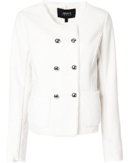 Fitted Button Up Jacket
