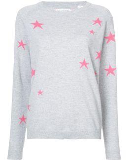Cashmere Star Print Top