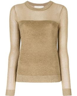 Glitter Knitted Top
