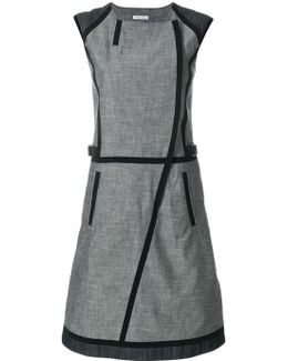 Contrast Piped Dress