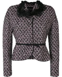 Belted Tweed Jacket