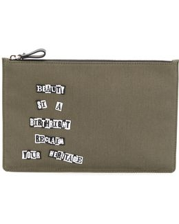 Reclaim Your Heritage Clutch