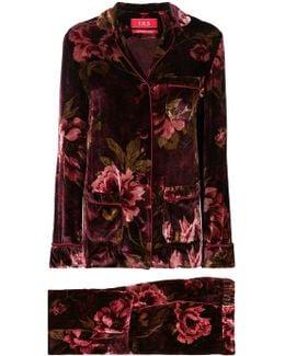 Velvet Pyjama Suit