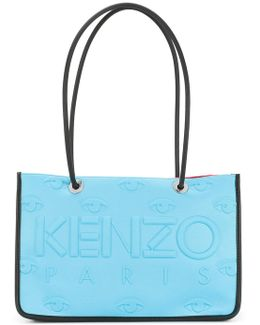 Embossed Boxy Tote
