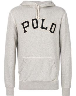 Embroidered Hooded Sweatshirt