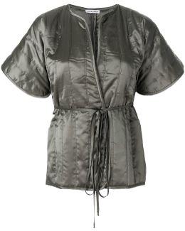 Kimono Style Wrap Jacket