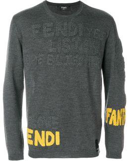 Branded Stitch Sweater