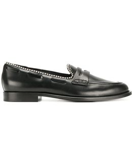 Micro Stud Loafers